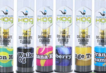 House Of Glass Pure THC Distillate Syringe